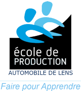 logo école de production automobile lens